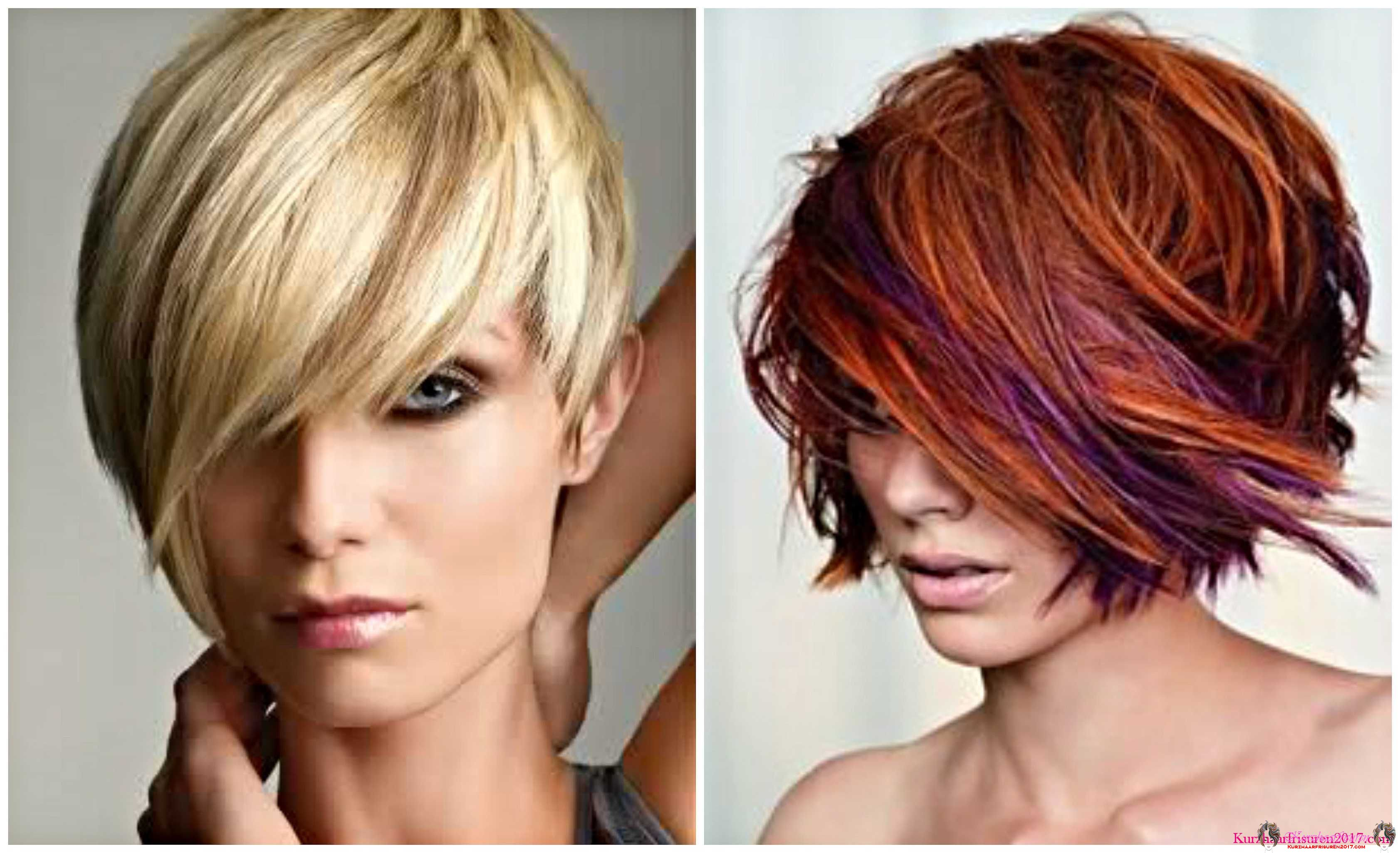Hair Color Ideas For Short Hair 2017: Kurzhaarfrisuren 2017 Damen