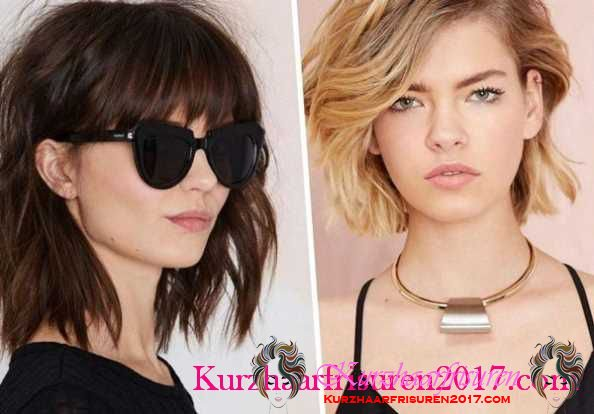 mode kurzhaarfrisuren damen 2017